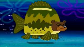 Squidward gets attacked by a sea bear