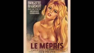 """Camille Thème - Georges Delerue, """"Le Mépris"""" Thème, """"Contempt"""", 1963"""