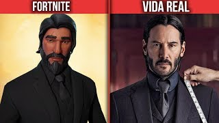 Fortnite characters that exist in real life (Fortnite Skins in real life)