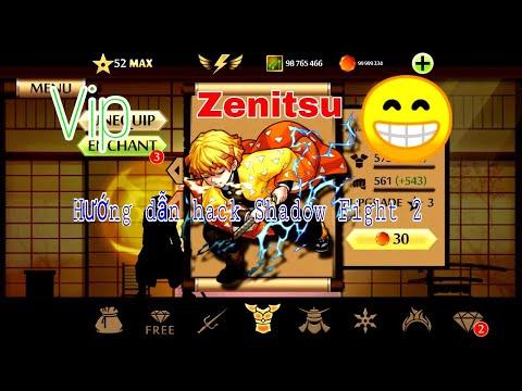 hack shadow fight 2 phien ban moi nhat - Cách Hack Shadow Fight 2 Vip - Mod Zenitsu (Anime) + Free Downlaod