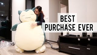 I bought a life size Snorlax lol. | How I feel about the wedding
