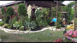 GARDEN 95 - Small garden architecture - Piaskowiec w ogrodzie - Sandstone in the garden