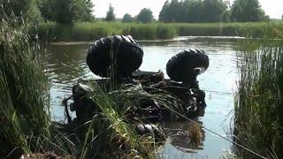 OF-ROAD УАЗ - утопленник:))) UAZ drowned