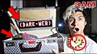 DO NOT OPEN DARK WEB MYSTERY BOX!! AT 3AM!! *OMG SO CREEPY*