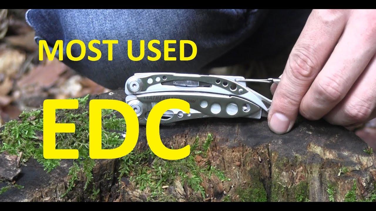 My MOST USED EDC Knife - The Leatherman Skeletool