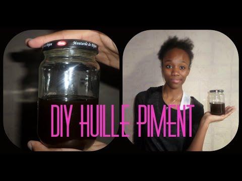 diy n 2 huile de piment maison pour la pousse des cheveux youtube