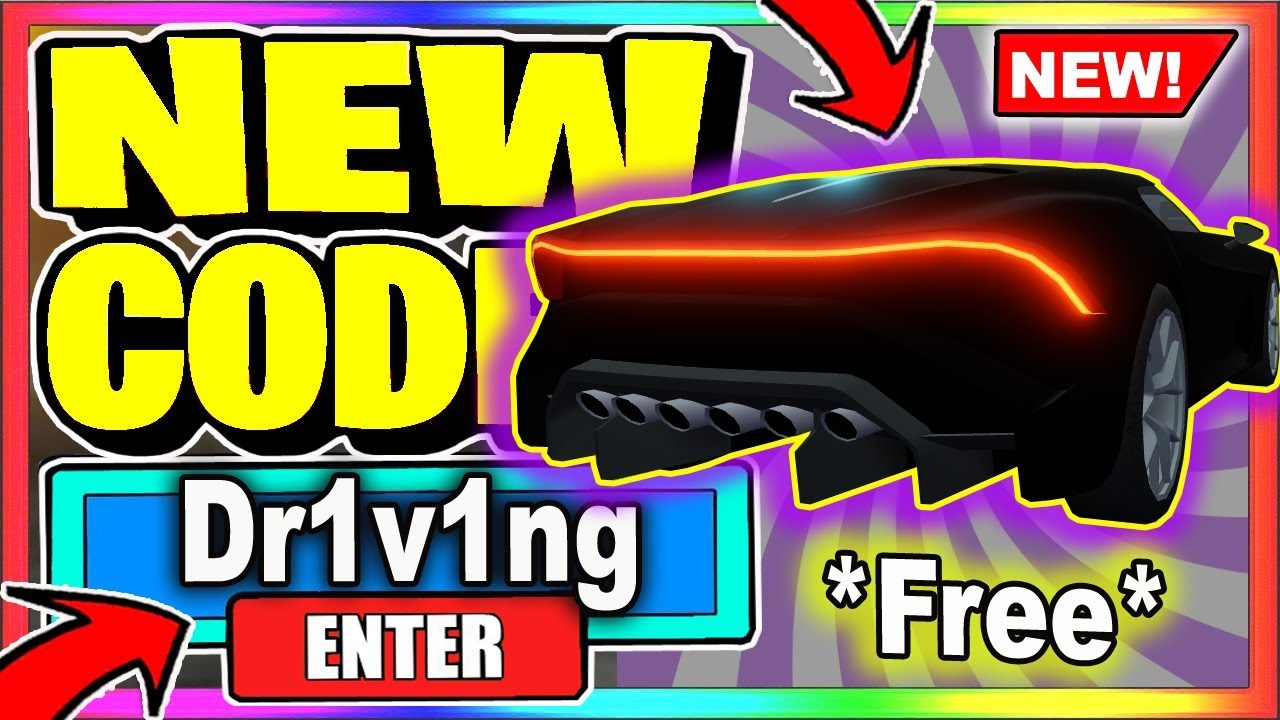 ALL NEW *SECRET* CODES??? 🔥 Roblox Driving Simulator - YouTube