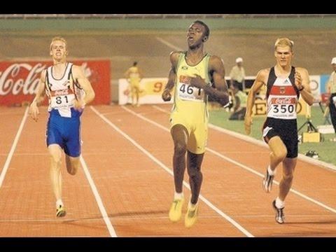 Usain Bolt Junior years