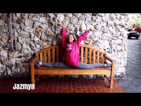 Rachel VS Jazmyn Gymnastics