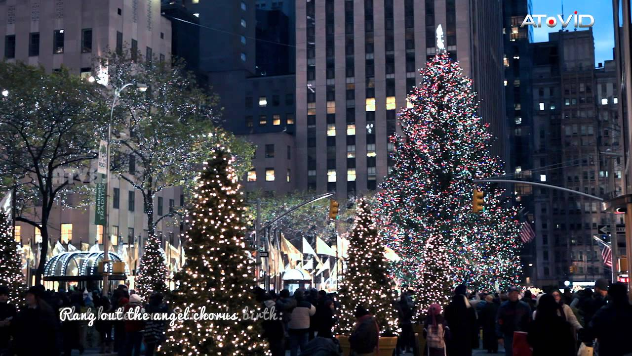 English Christmas Song ~ Go, tell it on the mountain   Acoustic Version with Lyrics - YouTube