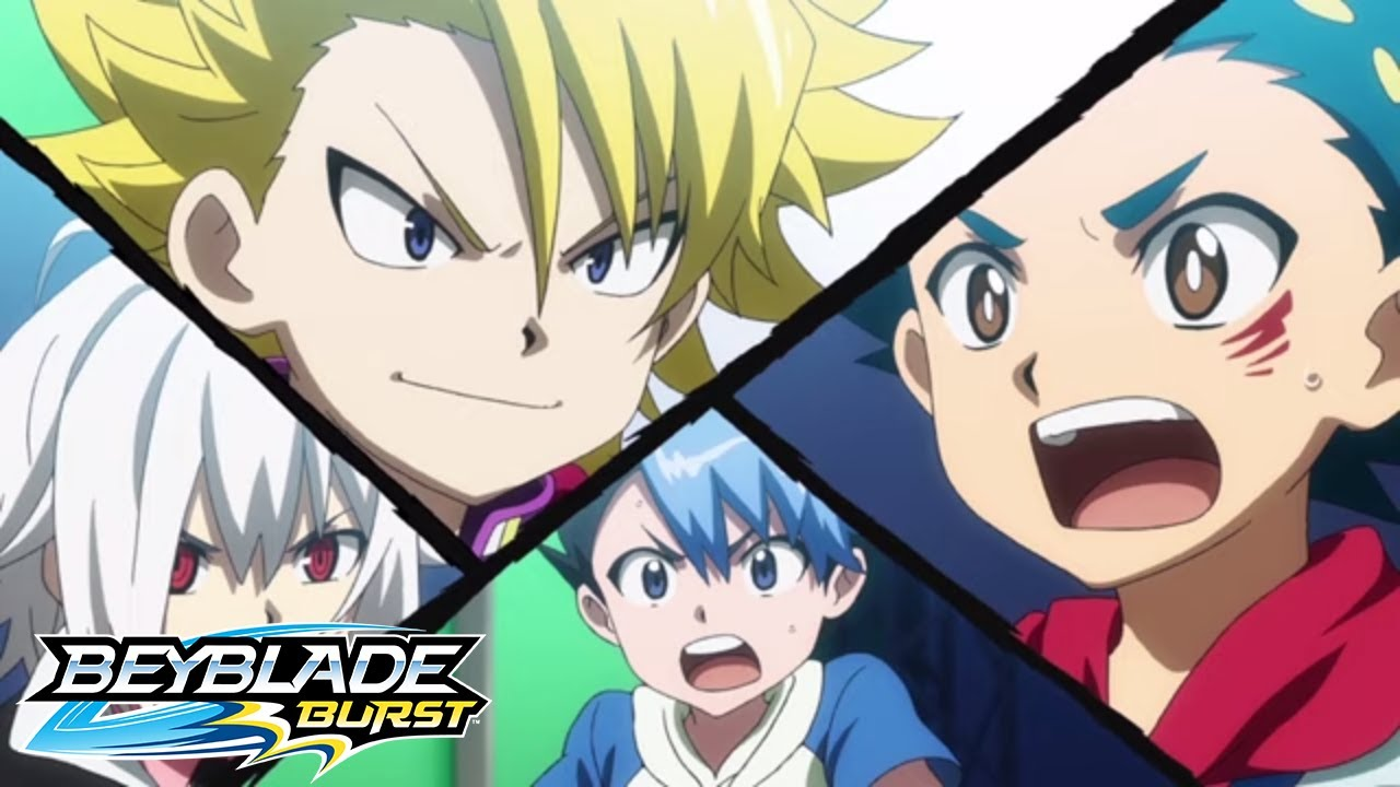 BEYBLADE BURST Episode 8 Wakiya vs Haruto at the District Tournament