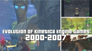 Evolution of Kinetica Engine Games 2000-2007