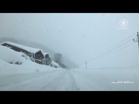 Unterwegs im Schnee - Die Lage im salzburgischen Filzmoos - Das Erste