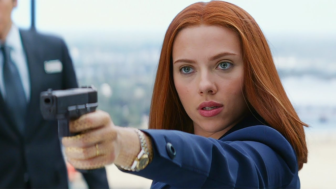 """""""Did I Step On Your Moment?"""" Black Widow vs Alexander Pierce - Captain America: The Winter Soldier"""