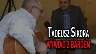 """Wywiad z bardem Tadeuszem Sikorą. Prawdziwa, niesprzedana, patriotyczna twarz """"Solidarności""""."""