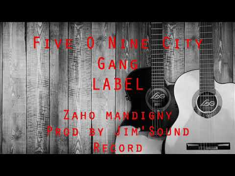 Five O Nine City Gang Label - Zaho mandigny (by Jim'Sound Record 2017)