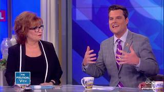Rep. Matt Gaetz Says Trump Should Pardon Roger Stone | The View