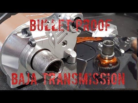 Baja Bullet Proof Transmission (hpi, Rovan, King Motors, Primal Rc)