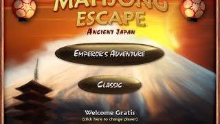 Mahjong Escape. Ancient Japan