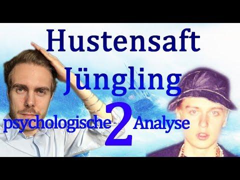 🔷 Hustensaft Jüngling bei Skinny • Psychologische Analyse: Rechtfertigung, Humor, Giftpfeile