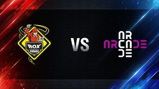 TORNADO.ROX vs Arcade eSports - day 2 week 2 Season I Gold Series WGL RU 2016/17