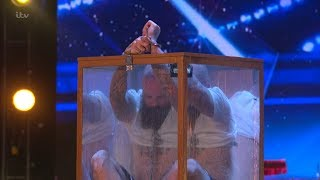 Britain's Got Talent 2018 Matt Johnson Escape Artist Full Audition S12E01