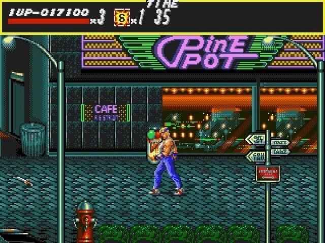 Jouez à Streets of Rage sur Sega Megadrive avec nos Bartops et Consoles Retrogaming