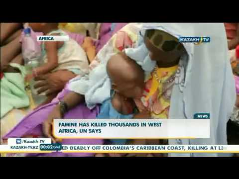 Famine killed thousands in West Africa, UN says - Kazakh TV