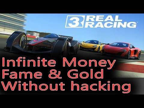 Infinite Money, Fame And Gold In Real Racing 3 - Fast Version