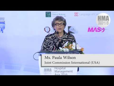 HMA 2016 Plenary with Ms. Wilson of Joint Commission International (Sept 7, 2016)