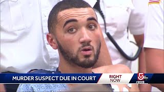 Man accused in deaths of officer, bystander due in court