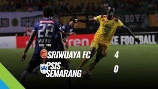 [Pekan 10] Cuplikan Pertandingan Sriwijaya FC vs PSIS Semarang, 22 Mei 2018