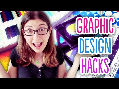 Graphic Design Hacks // Tips and Tricks for all your Graphic Design Projects!