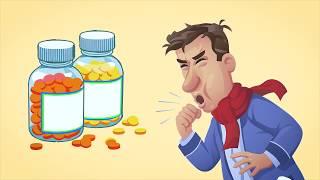 видео Пастилки с цинком помогают в борьбе с простудой