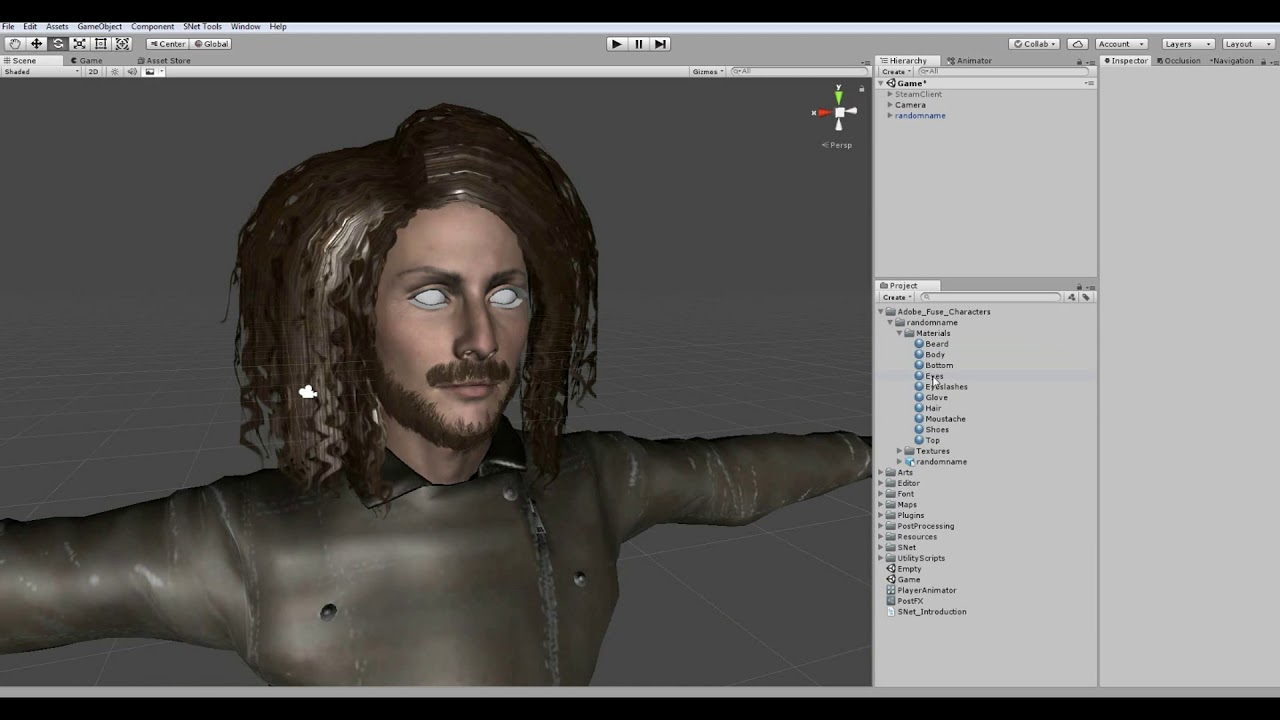 SNet - Adding a player character (Video Tutorial)