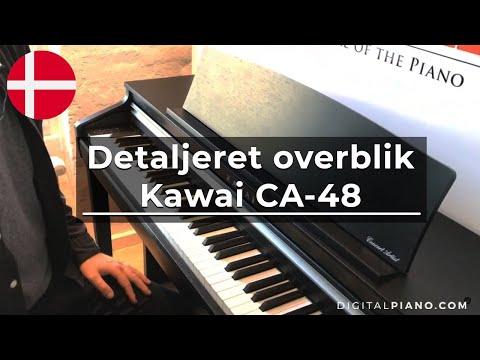 Kawai CA-48 Dansk | Digitalpiano.dk