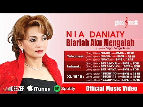 Nia Daniaty - Biarlah Aku Yang Mengalah (Official Lyric Video)