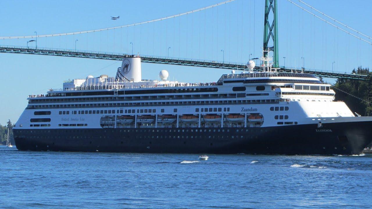 ZaandamCruise Ship In Vancouver BC May YouTube - Zaandam ship