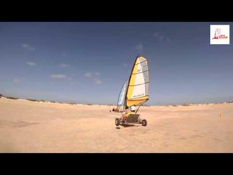 Land sailing Fuerteventura