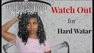 What Your Water Could Be Doing To Your Hair (Hard Water Pt  2)