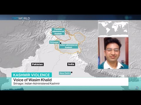 Kashmir Violence: Interview with Wasim Khalid from Srinagar, Indian-Administered Kashmir