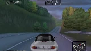 Need For Speed: Road Challenge - Verfolgung - BMW Z3 - Landstraße (gespiegelt - rückwärts)