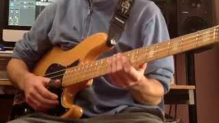 How to play slap bass - Run For Cover - Marcus Miller part 1/3