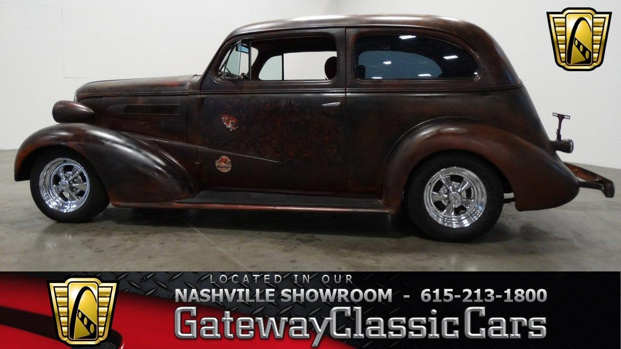1937 Chevy For Sale >> 1937 Chevrolet Coach (Flatback),Gateway Classic Cars-Nashville#421 - YouTube