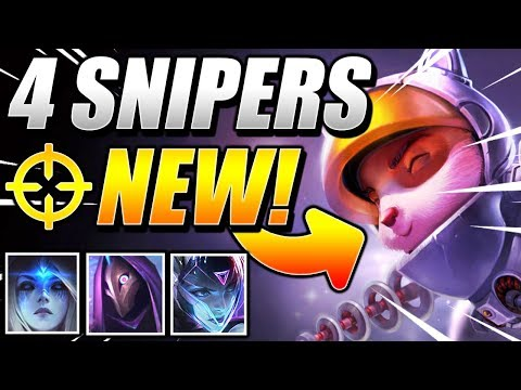 NEW TEEMO 4 SNIPER Is THE BEST!! - TFT Teamfight Tactics Galaxies 10.12 Patch Guide SET 3 Meta Comps