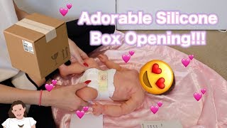 Adorable Full Body Silicone Girl Box Opening Kelli Maple