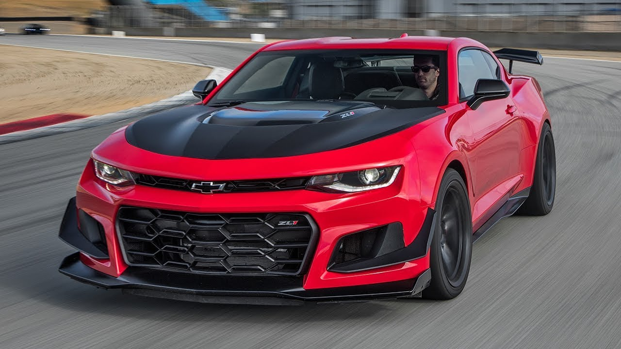 2018 Chevrolet Camaro Zl1 1le Hot Lap 2017 Best Driv