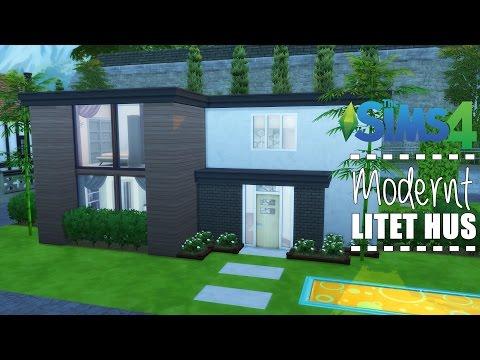 Sims 4 Bygger || Modernt Hus