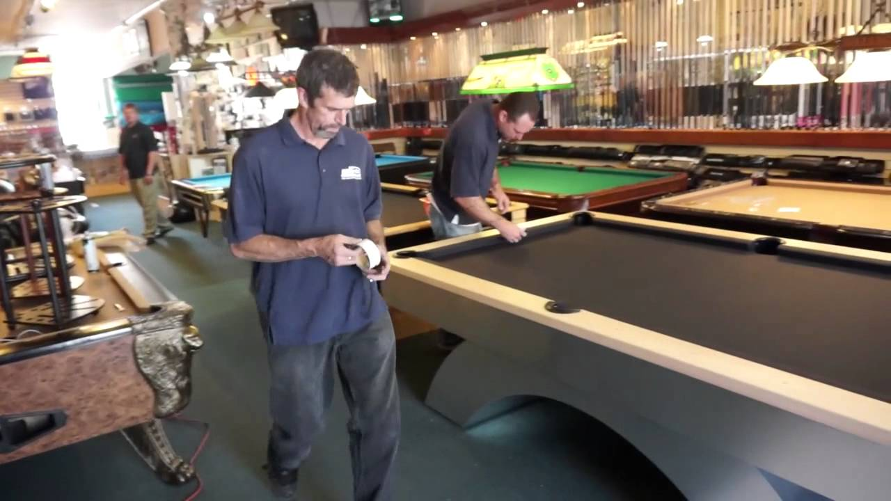 Pool Table Installation Step Pockets And Spot Placement YouTube - 3x6 pool table