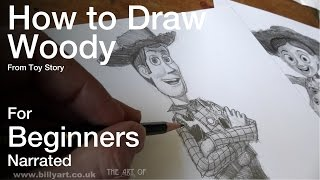 How to Draw Woody from Toy Story